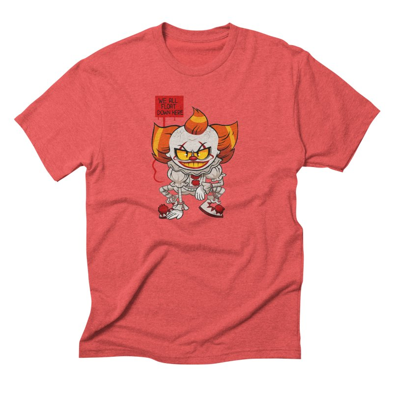 Pennywise Men's Triblend T-Shirt by ErinHunting's Artist Shop