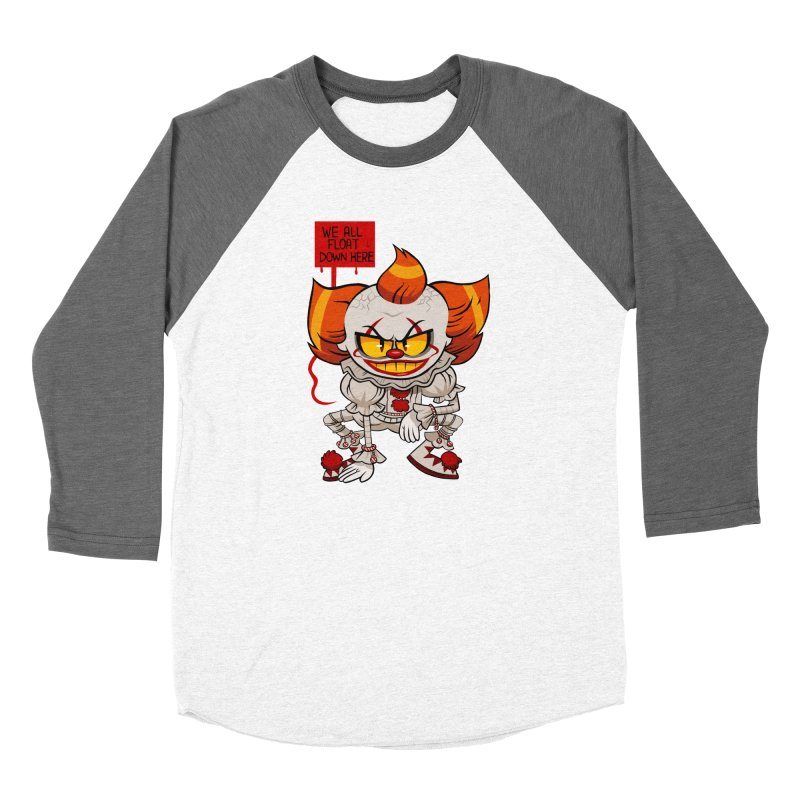 Pennywise Women's Baseball Triblend T-Shirt by ErinHunting's Artist Shop
