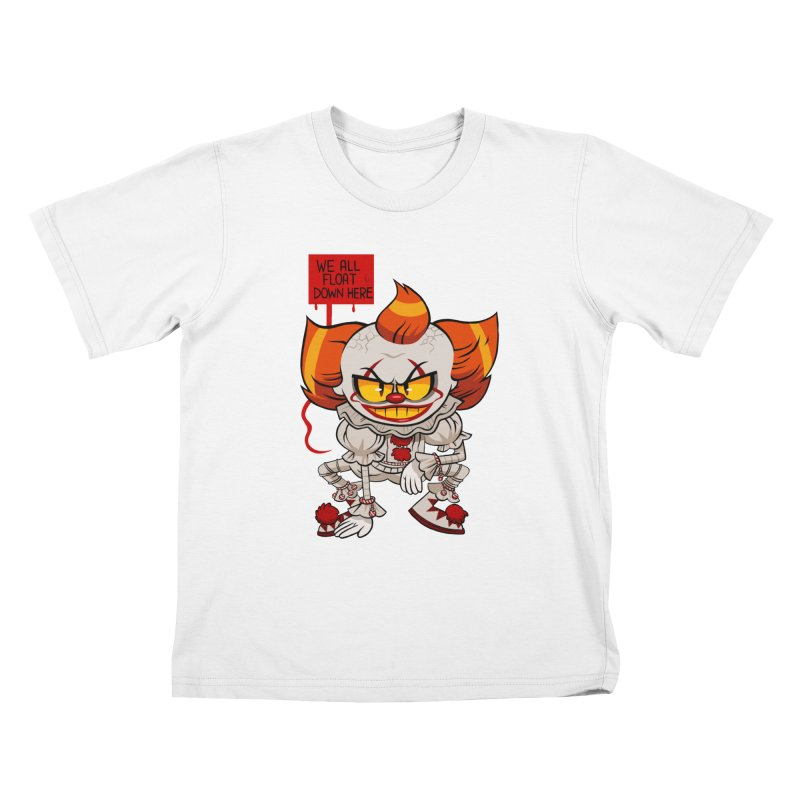 Pennywise Kids T-Shirt by ErinHunting's Artist Shop