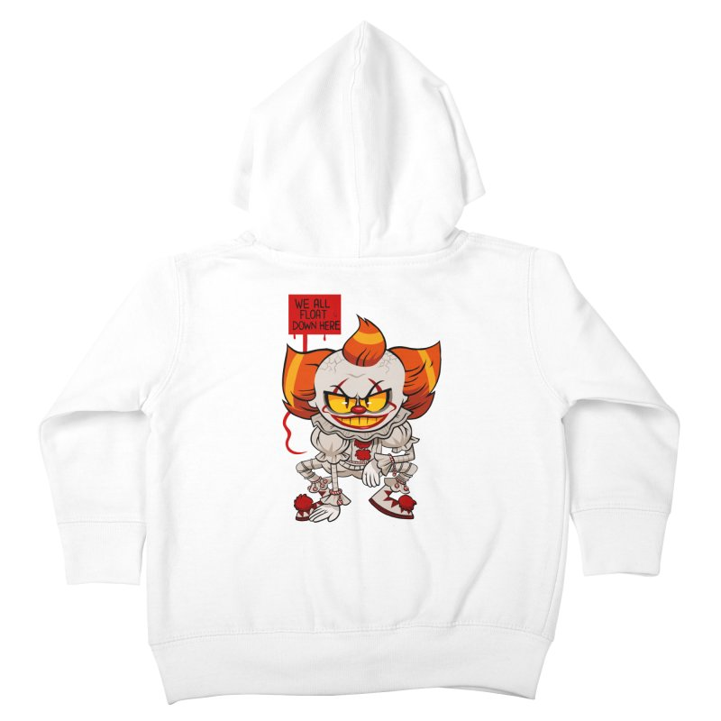 Pennywise Kids Toddler Zip-Up Hoody by ErinHunting's Artist Shop