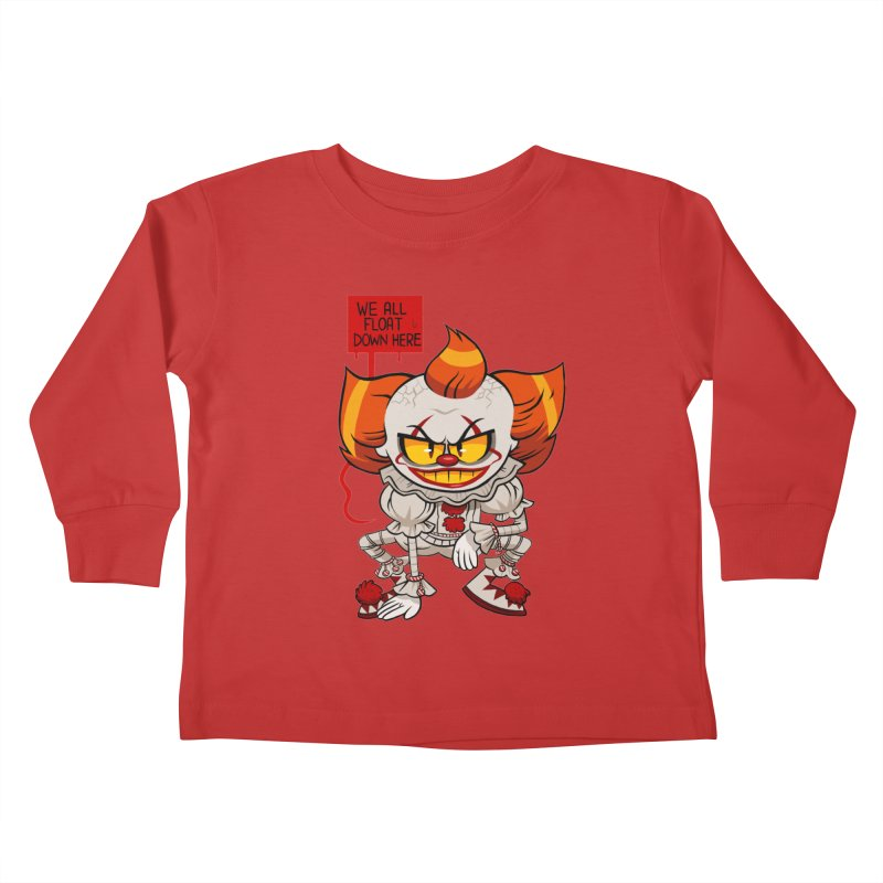 Pennywise Kids Toddler Longsleeve T-Shirt by ErinHunting's Artist Shop