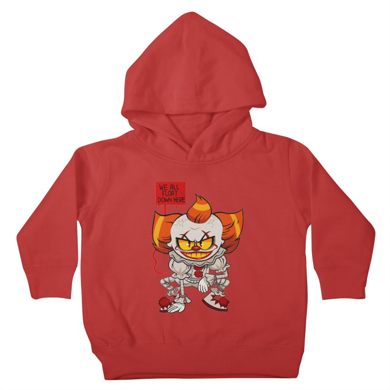 Pennywise Kids Toddler Pullover Hoody by ErinHunting's Artist Shop
