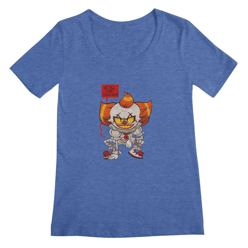 Pennywise Women's Scoopneck by ErinHunting's Artist Shop