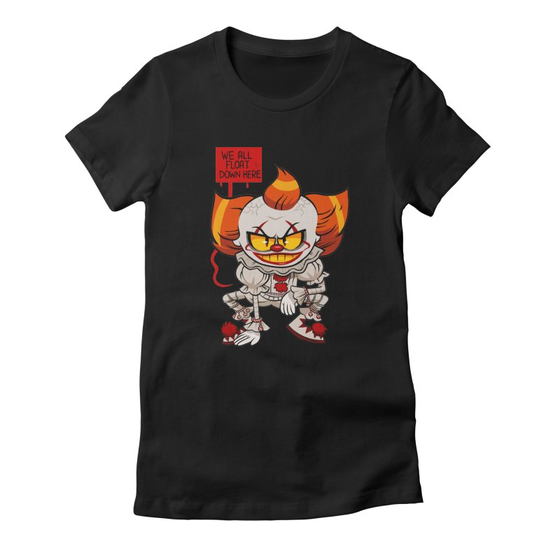 Pennywise Women's Fitted T-Shirt by ErinHunting's Artist Shop