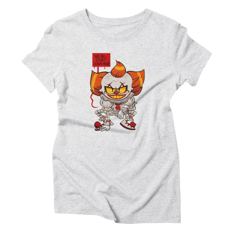 Pennywise Women's Triblend T-Shirt by ErinHunting's Artist Shop