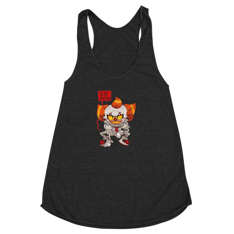 Pennywise Women's Racerback Triblend Tank by ErinHunting's Artist Shop