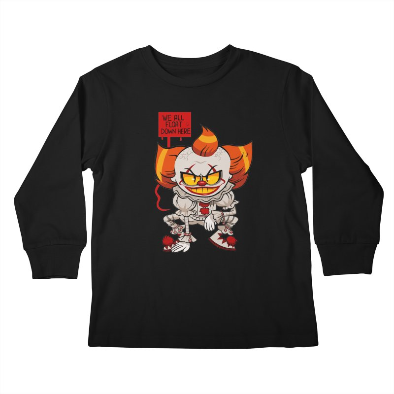 Pennywise Kids Longsleeve T-Shirt by ErinHunting's Artist Shop