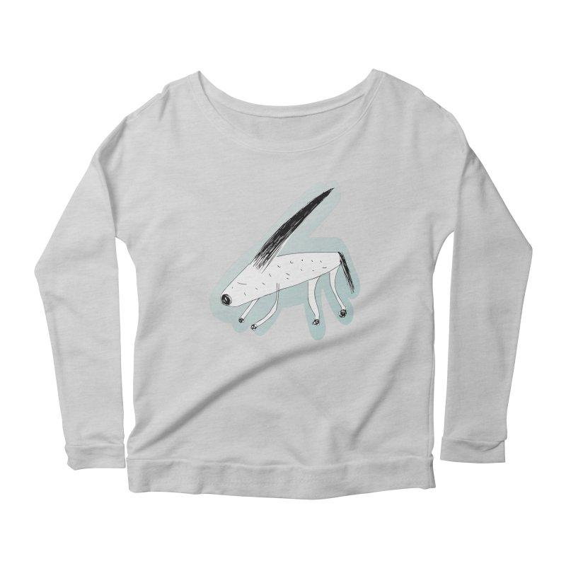 meonk Women's Scoop Neck Longsleeve T-Shirt by errithethird
