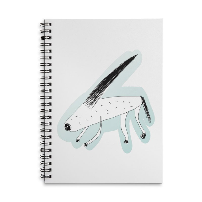 meonk Accessories Lined Spiral Notebook by errithethird