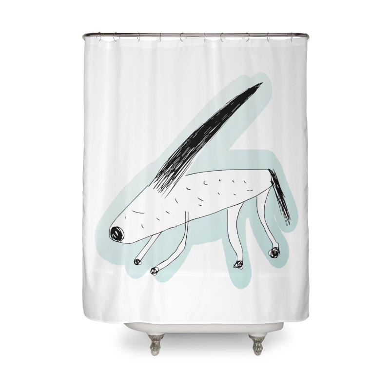 meonk Home Shower Curtain by errithethird