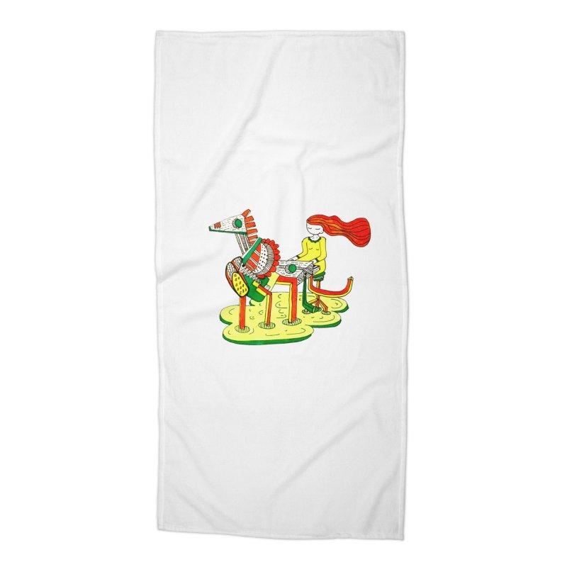 Pianoku Kudaku Accessories Beach Towel by errithethird