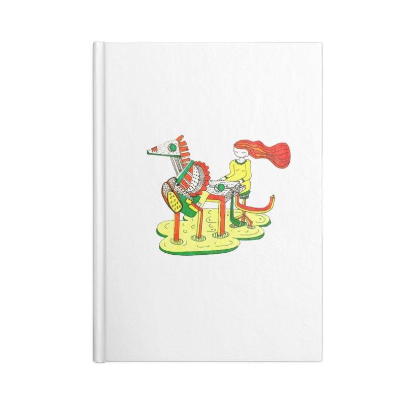 Pianoku Kudaku Accessories Lined Journal Notebook by errithethird