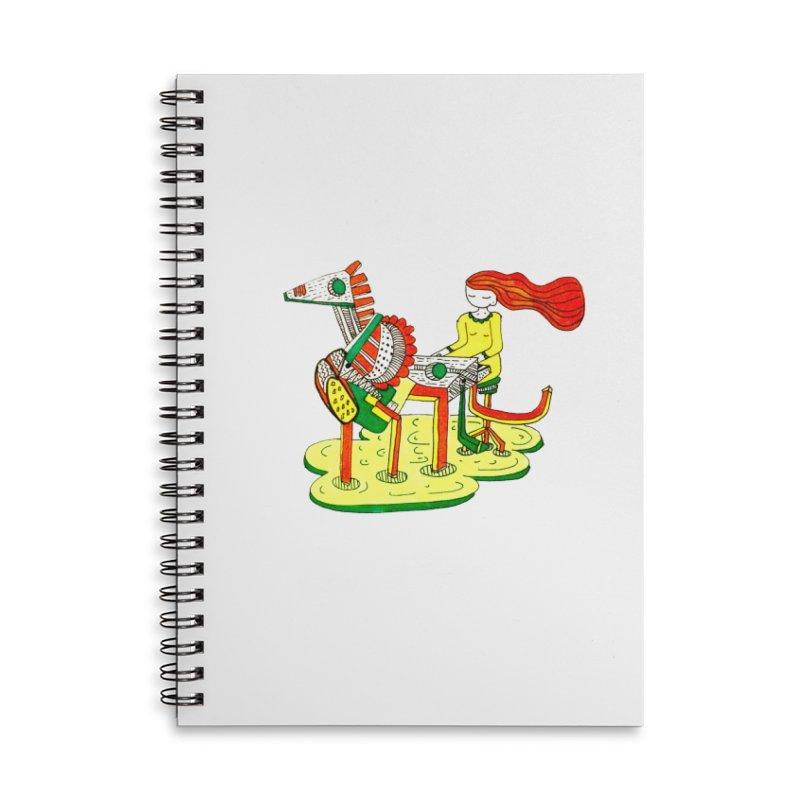 Pianoku Kudaku Accessories Lined Spiral Notebook by errithethird