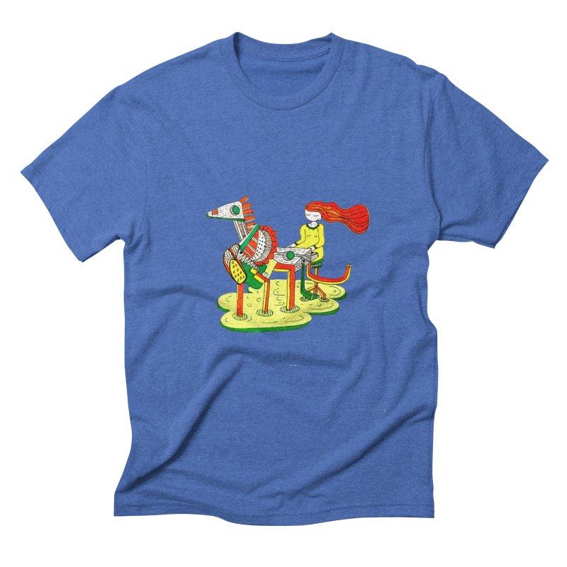Pianoku Kudaku Men's T-Shirt by errithethird