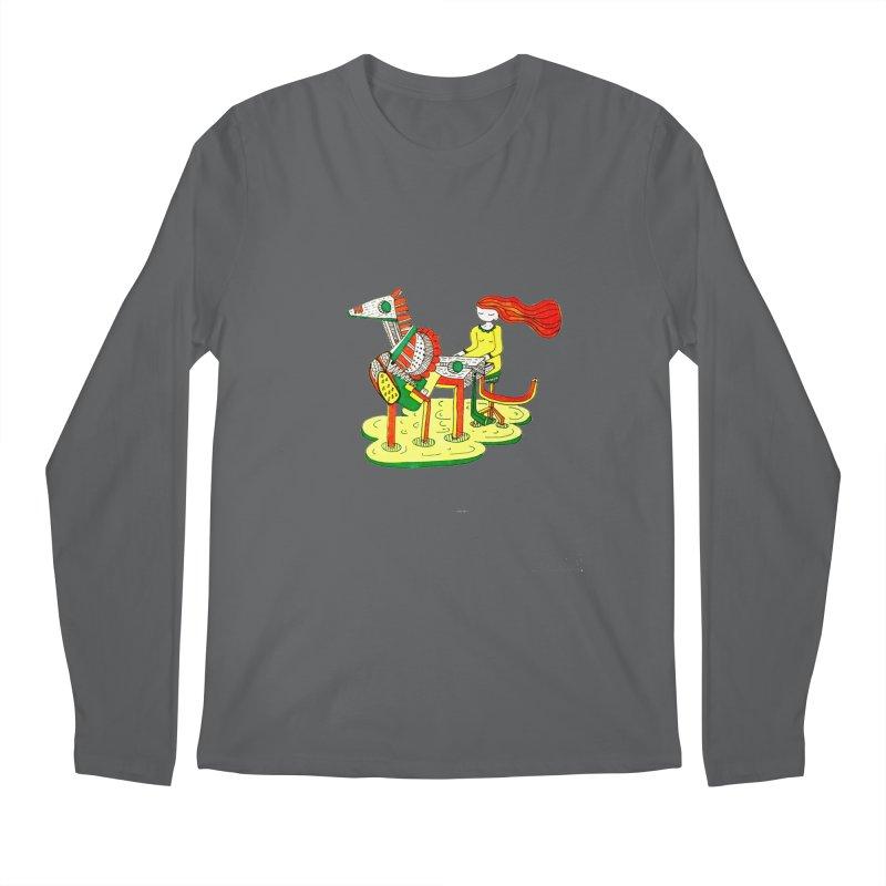 Pianoku Kudaku Men's Longsleeve T-Shirt by errithethird