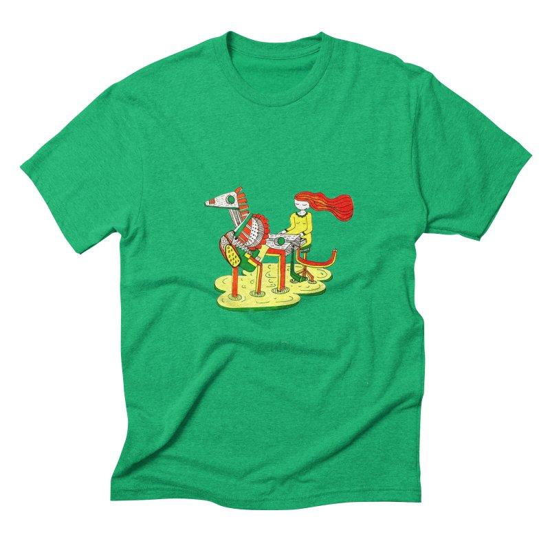 Pianoku Kudaku Men's Triblend T-Shirt by errithethird