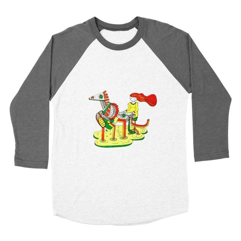 Pianoku Kudaku Women's Baseball Triblend Longsleeve T-Shirt by errithethird