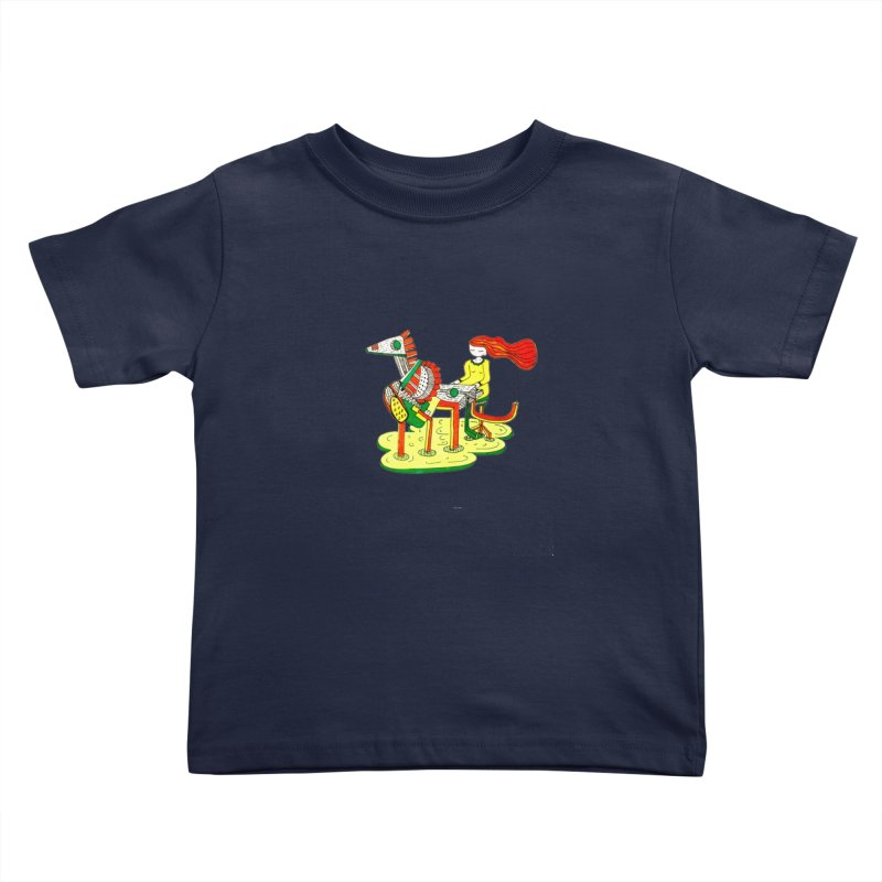 Pianoku Kudaku Kids Toddler T-Shirt by errithethird