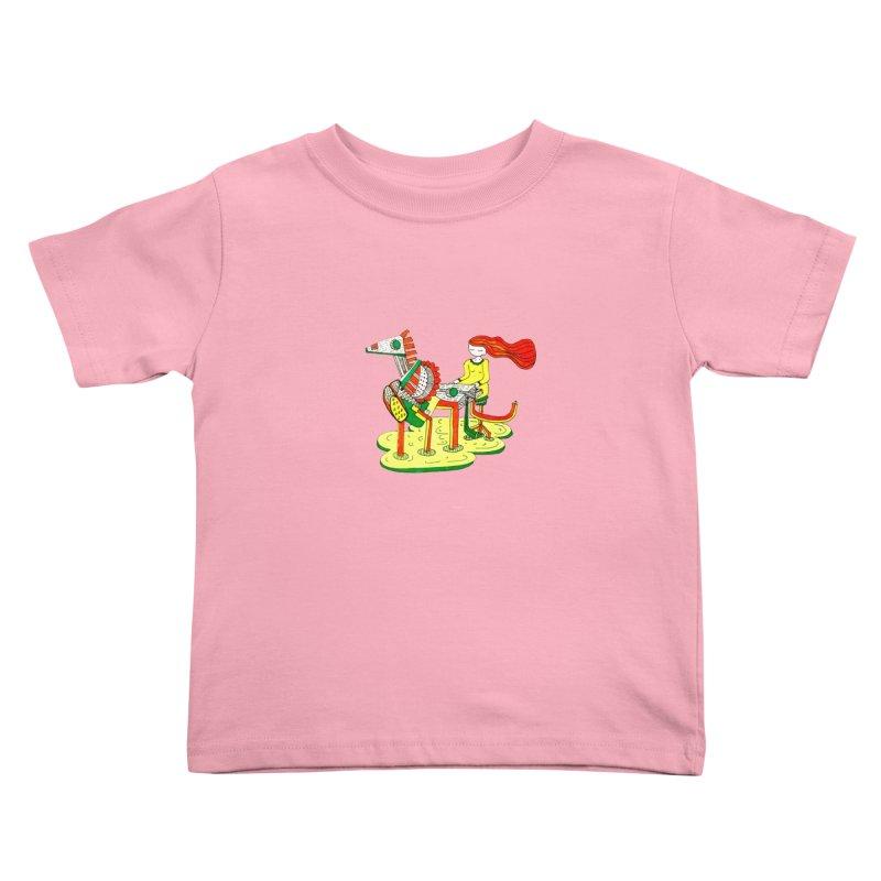 Pianoku Kudaku Kids Toddler T-Shirt by errithethird