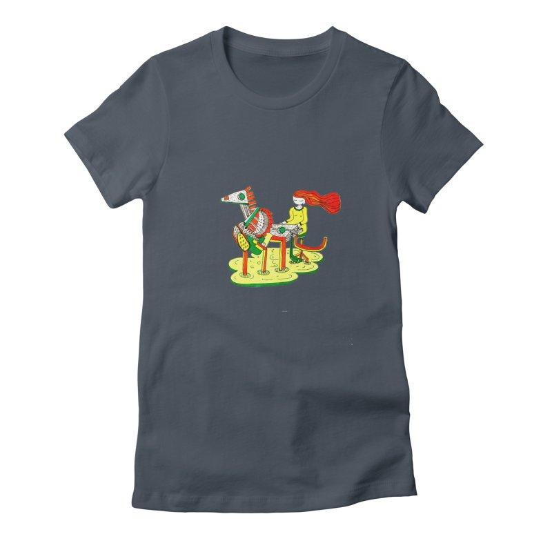 Pianoku Kudaku Women's T-Shirt by errithethird