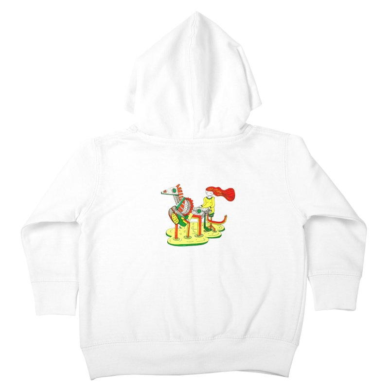 Pianoku Kudaku Kids Toddler Zip-Up Hoody by errithethird