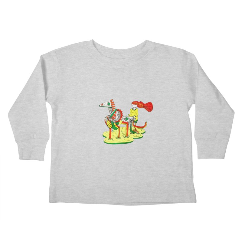 Pianoku Kudaku Kids Toddler Longsleeve T-Shirt by errithethird