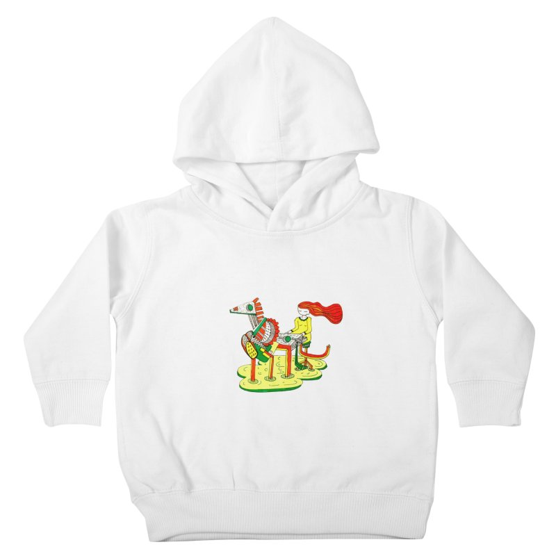 Pianoku Kudaku Kids Toddler Pullover Hoody by errithethird