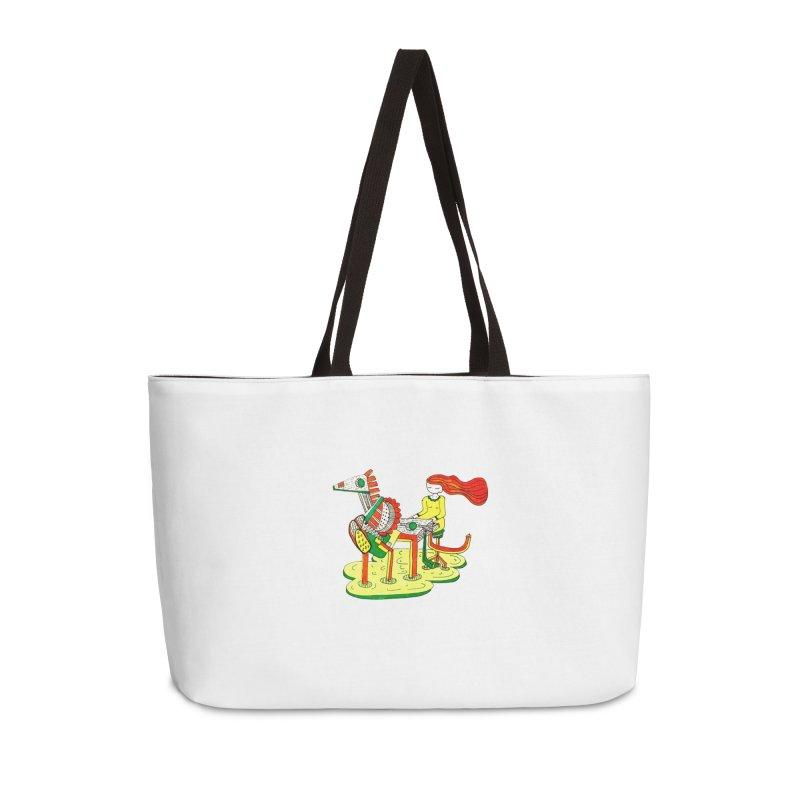 Pianoku Kudaku Accessories Weekender Bag Bag by errithethird
