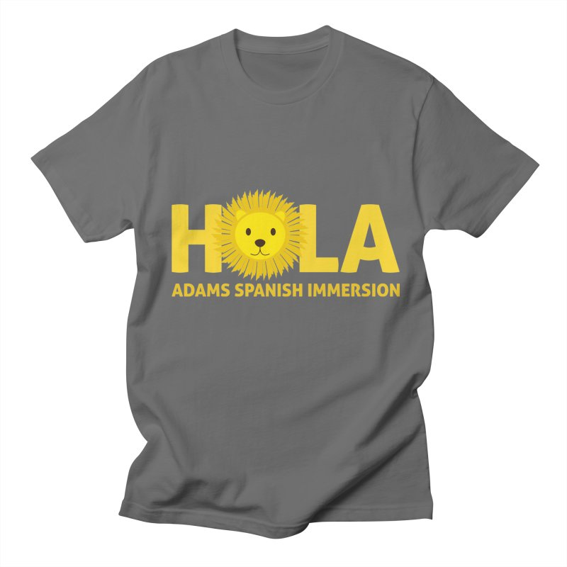 Hola Men's T-Shirt by Adams Spanish Immersion School Store