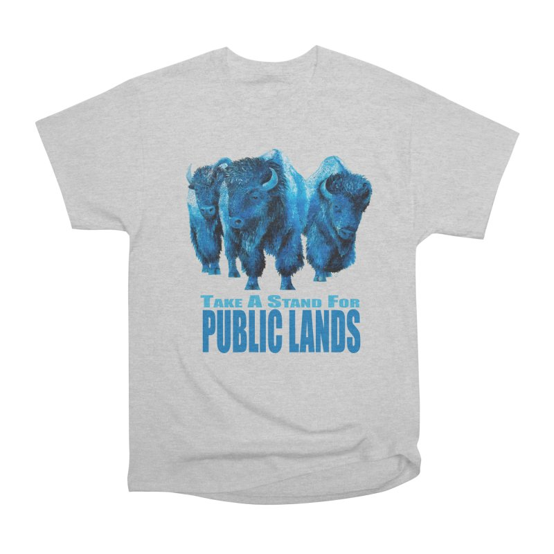 Take a Stand for Public Lands Men's T-Shirt by Etch's Sketches