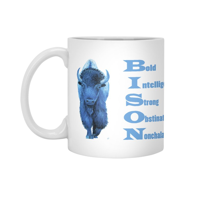 BISON Accessories Mug by Etch's Sketches