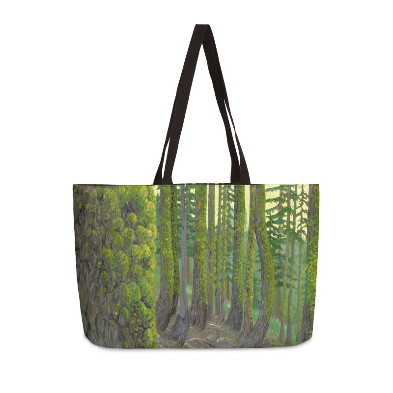 Green as a Forest Accessories Bag by Etch's Sketches