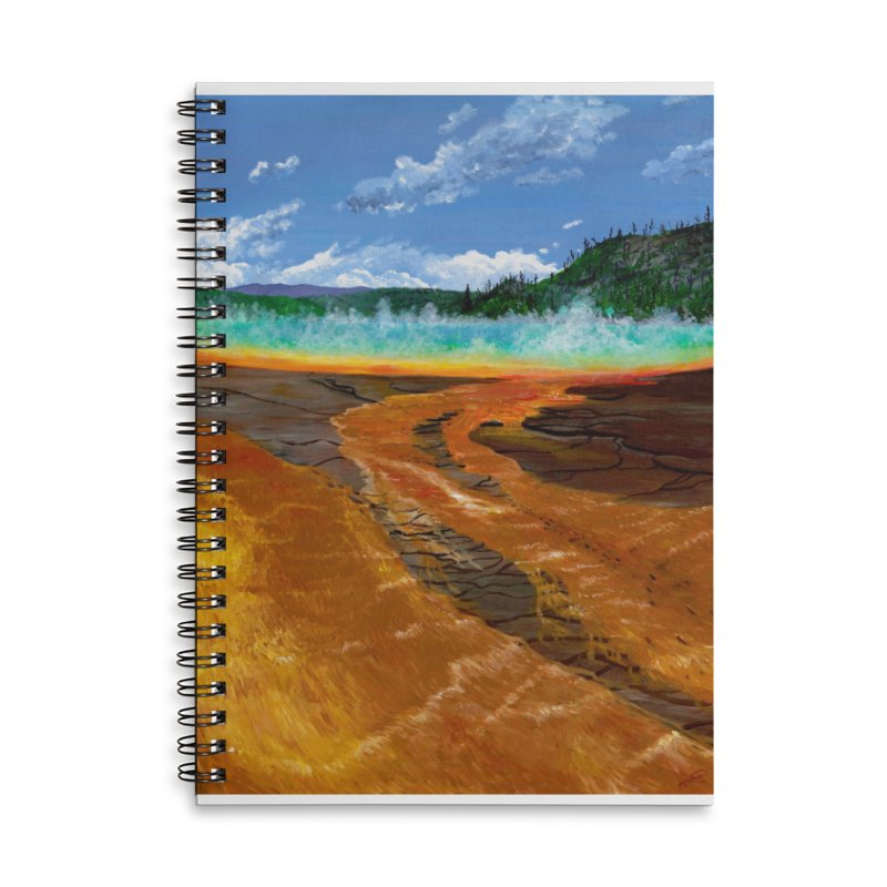 Prismatic Colors Accessories Notebook by Etch's Sketches
