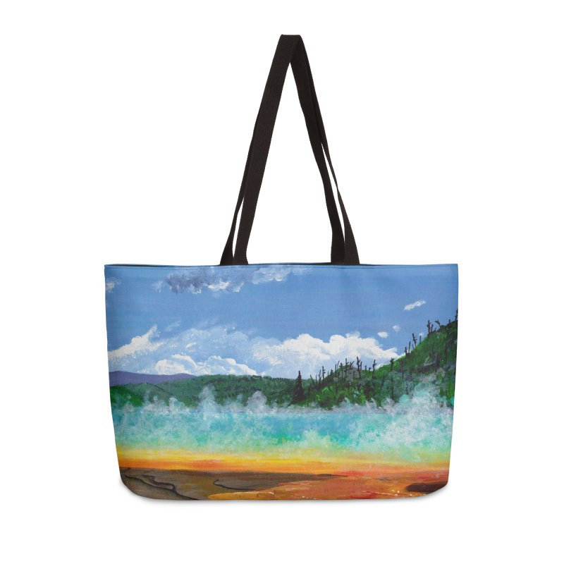 Prismatic Colors Accessories Bag by Etch's Sketches