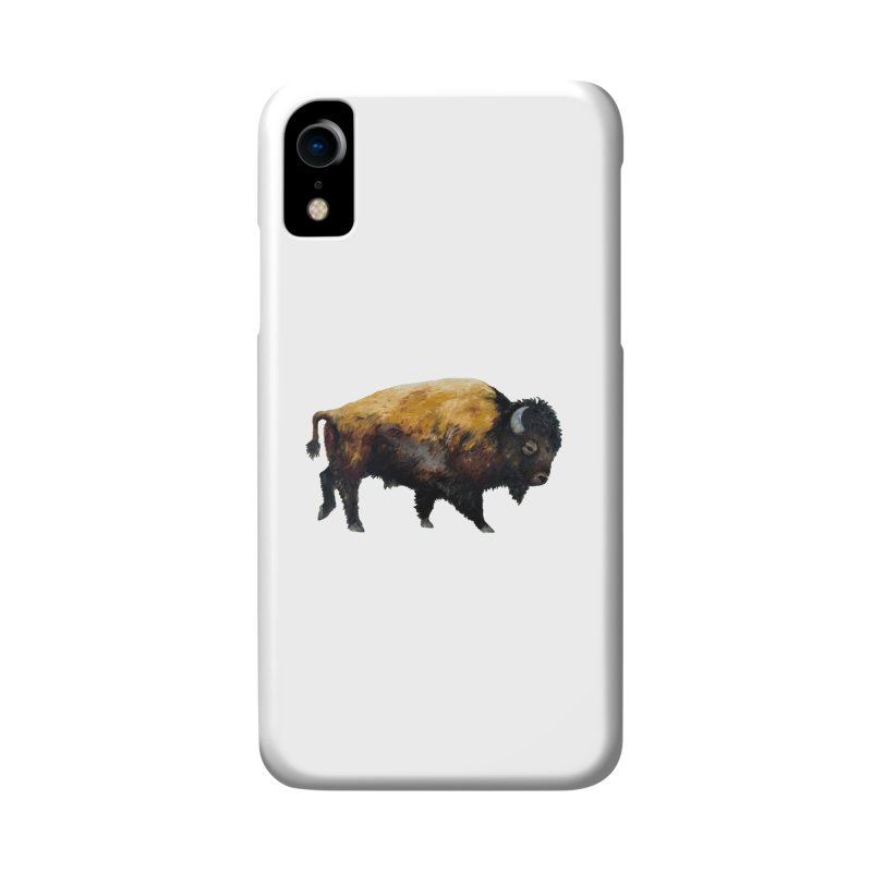 Lone Bison Accessories Phone Case by Etch's Sketches