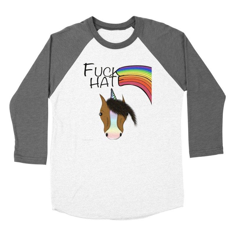 Fuck Hate Women's Longsleeve T-Shirt by Every Drop's An Idea's Artist Shop