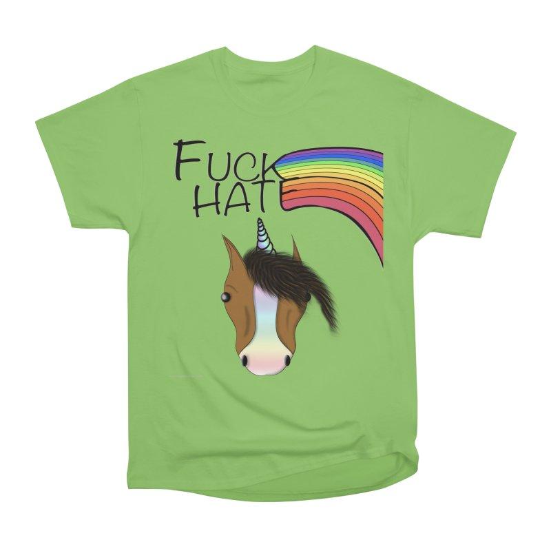 Fuck Hate Women's T-Shirt by Every Drop's An Idea's Artist Shop