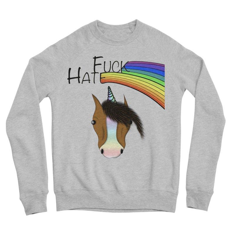 Fuck Hate Men's Sponge Fleece Sweatshirt by Every Drop's An Idea's Artist Shop