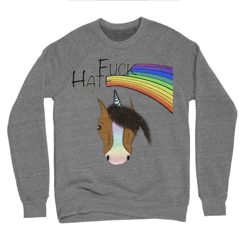 Fuck Hate Women's Sponge Fleece Sweatshirt by Every Drop's An Idea's Artist Shop