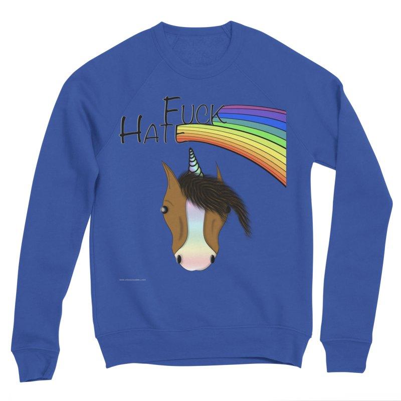 Fuck Hate Men's Sweatshirt by Every Drop's An Idea's Artist Shop
