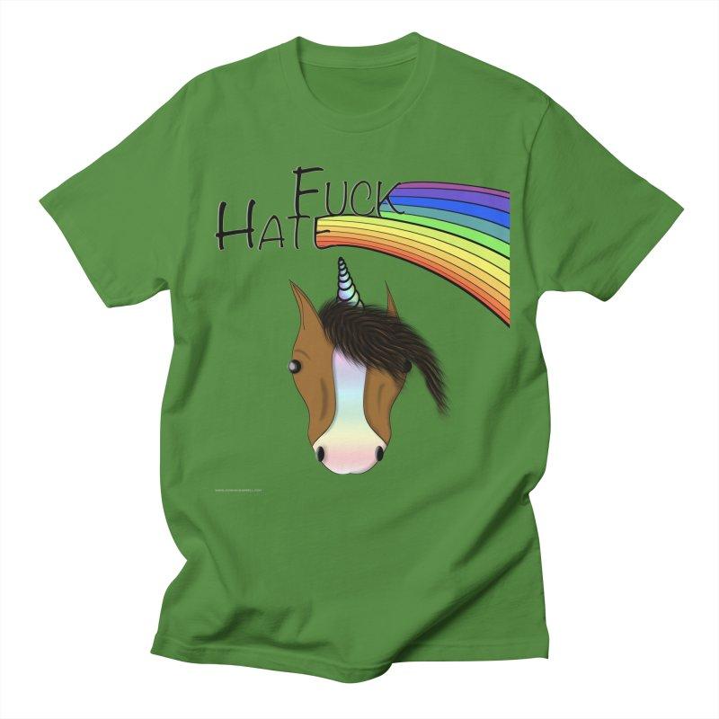 Fuck Hate Men's Regular T-Shirt by Every Drop's An Idea's Artist Shop