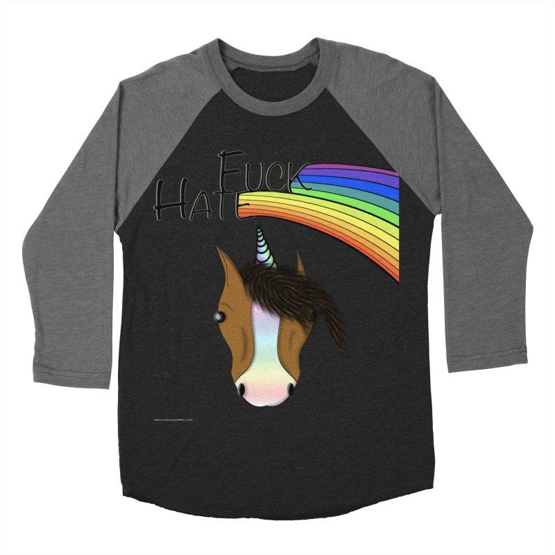 Fuck Hate Women's Baseball Triblend Longsleeve T-Shirt by Every Drop's An Idea's Artist Shop