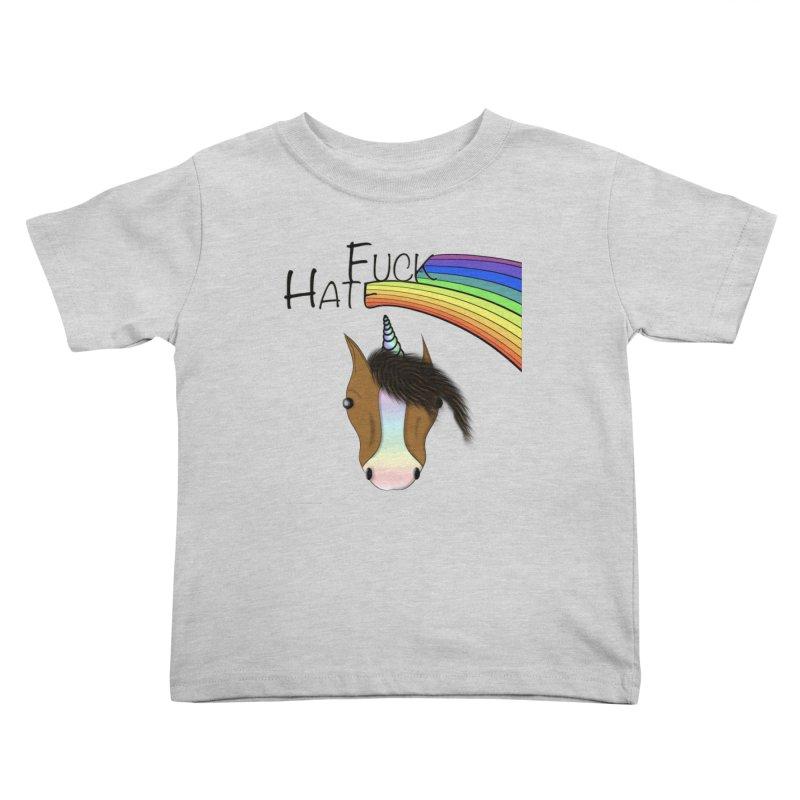 Fuck Hate Kids Toddler T-Shirt by Every Drop's An Idea's Artist Shop