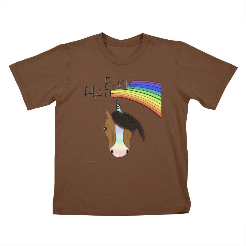 Fuck Hate Kids T-Shirt by Every Drop's An Idea's Artist Shop