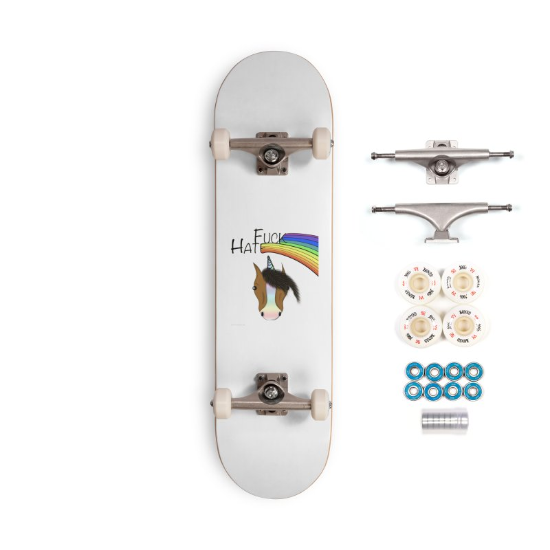 Fuck Hate Accessories Complete - Premium Skateboard by Every Drop's An Idea's Artist Shop