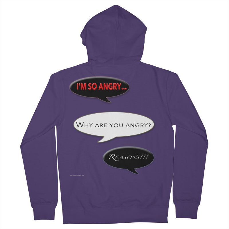 I'm So Angry Women's Zip-Up Hoody by Every Drop's An Idea's Artist Shop