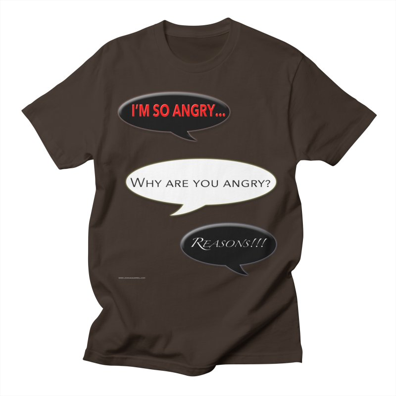 I'm So Angry Men's T-Shirt by Every Drop's An Idea's Artist Shop