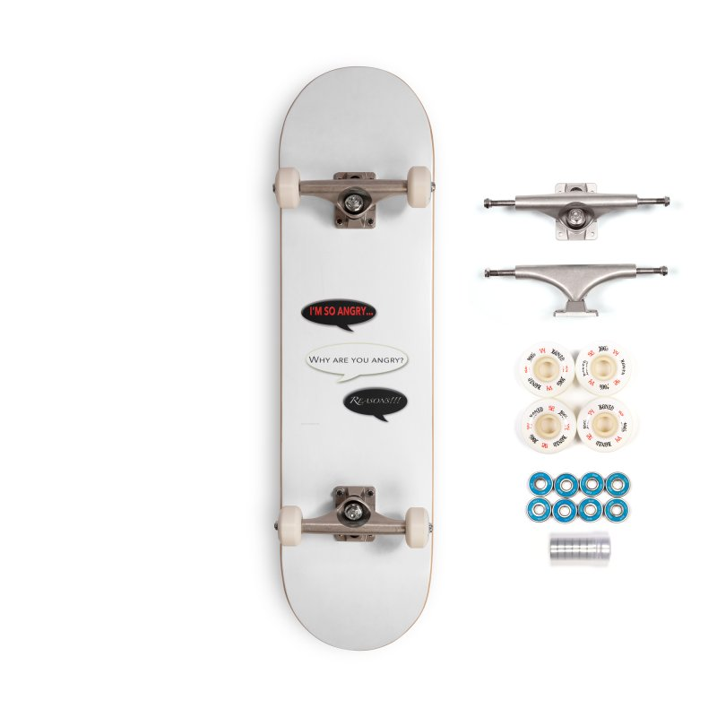 I'm So Angry Accessories Complete - Premium Skateboard by Every Drop's An Idea's Artist Shop