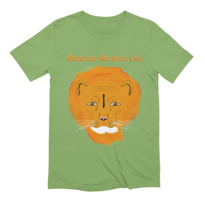 Disgraced Scientist Lion Men's T-Shirt by Every Drop's An Idea's Artist Shop