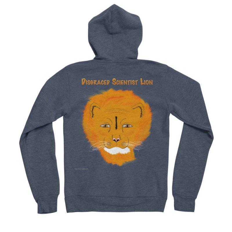 Disgraced Scientist Lion Men's Zip-Up Hoody by Every Drop's An Idea's Artist Shop